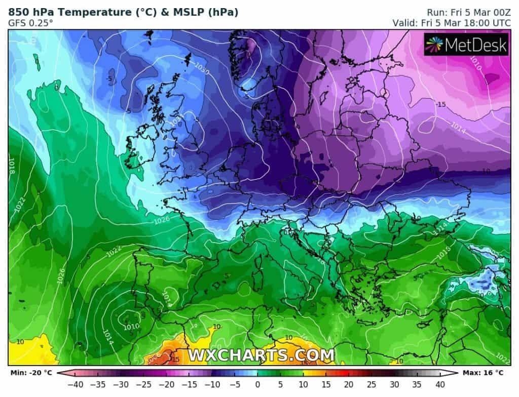 Atak zimy w Polsce nie taki straszny, choć śnieg pada na południu