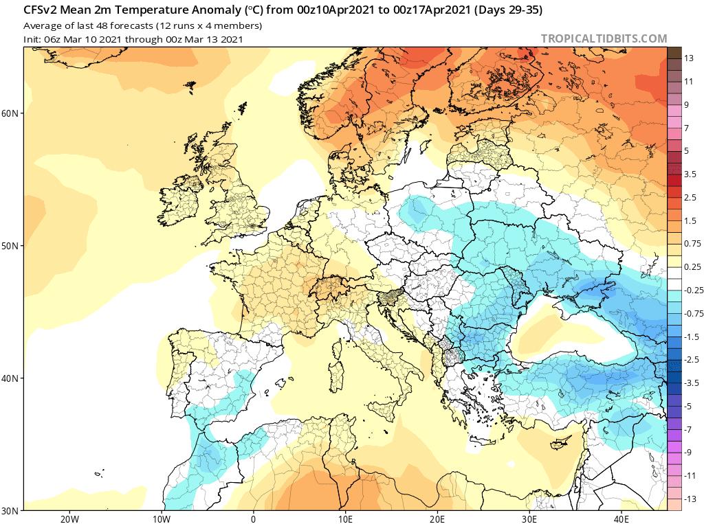 Anomalia tygodniowa CFS, kwiecień 2021