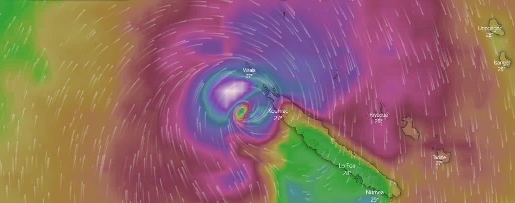 Niszcząca wichura. Cyklon Niran uderzył w Nową Kaledonię