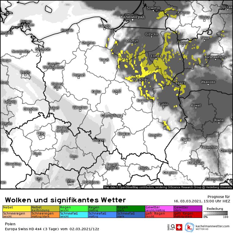 Pogoda w środę 2 marca. Chmury na północnym wschodzie. Reszta Polski w słońcu