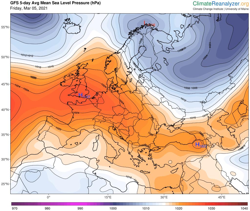 Pogoda. Ciśnienie atmosferyczne w Polsce