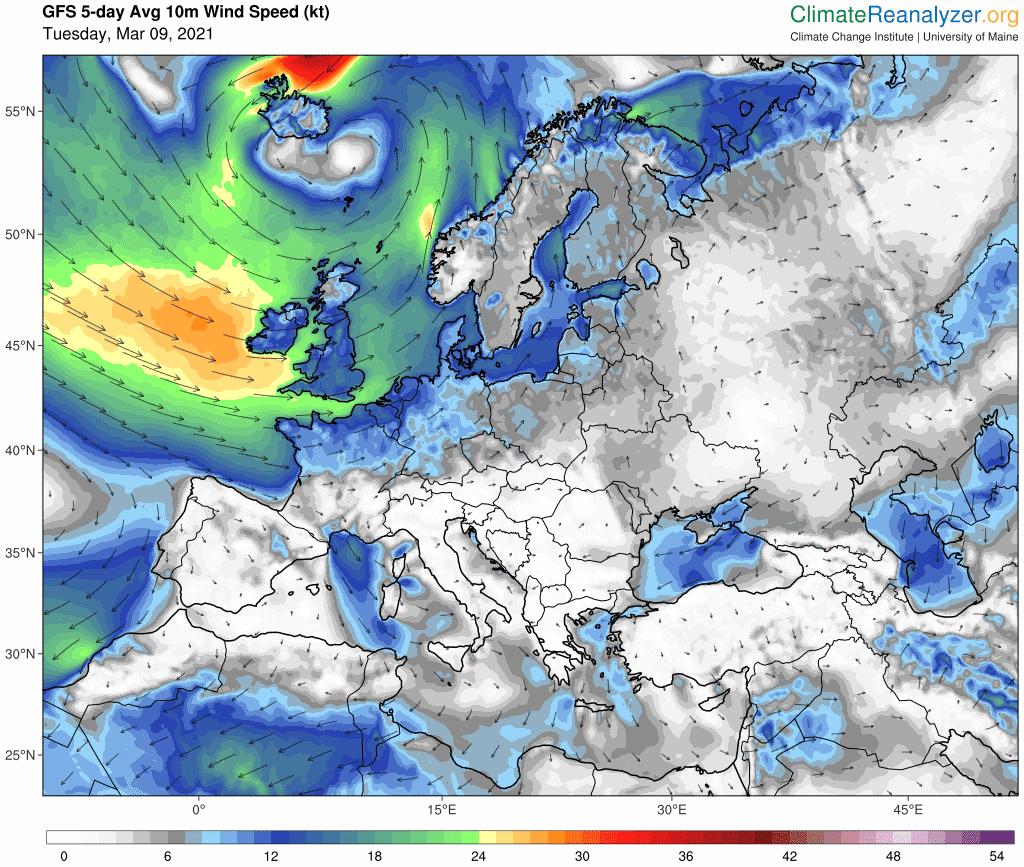 Pogoda. Silny wiatr w Polsce