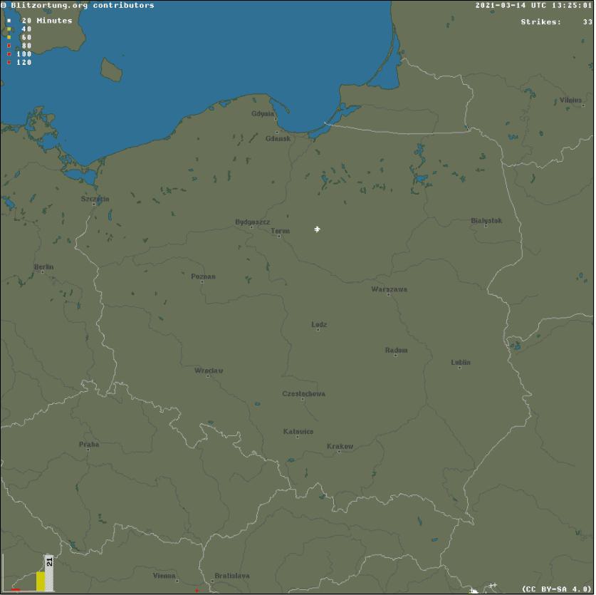 Burza w Polsce