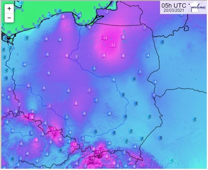 Mróz w Polsce. Kiedy nadejdzie wiosna?