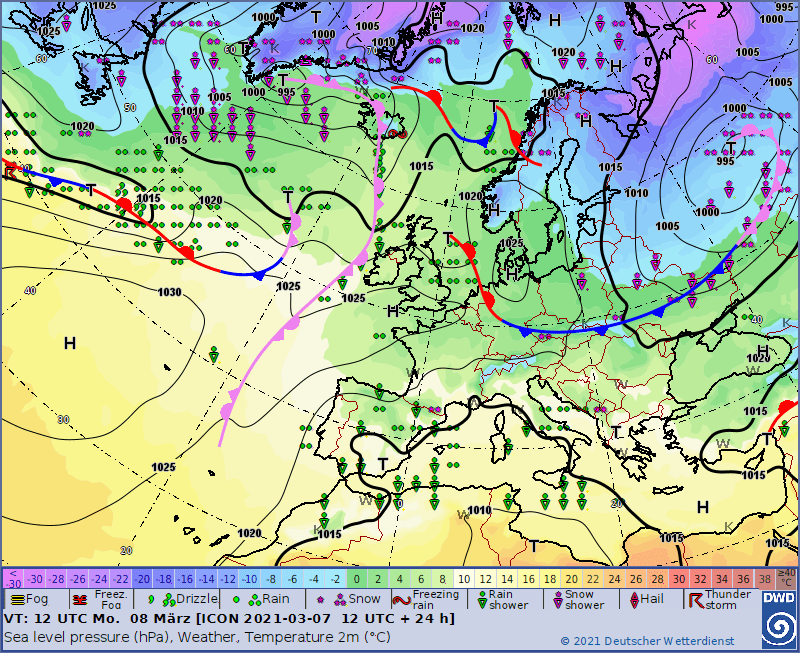 Pogoda 8 marca w Polsce. Jaka pogoda w Dzień Kobiet