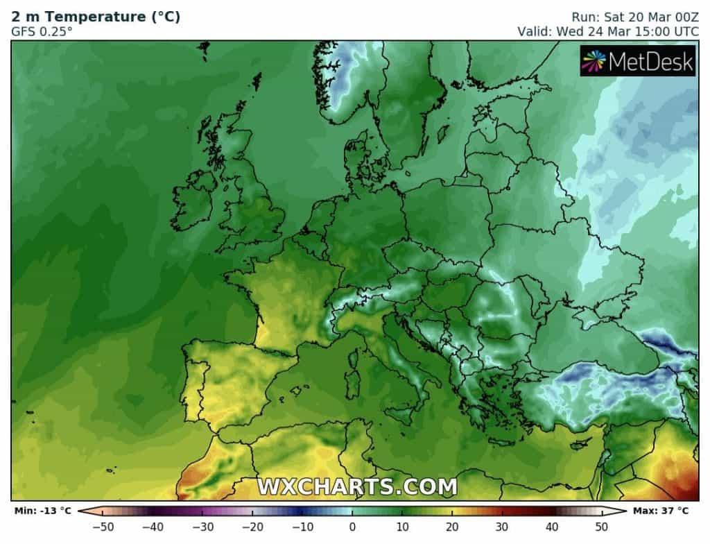 Kiedy ocieplenie w Polsce?