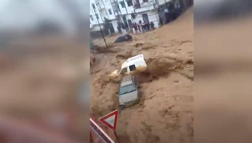Silne burze przyniosły powodzie