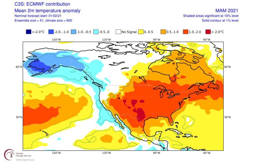 Pogoda długoterminowa.. Anomalia według ECMWF