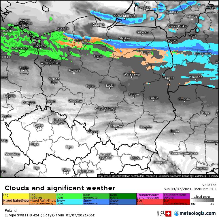 Pogoda. Snieg w Polsce