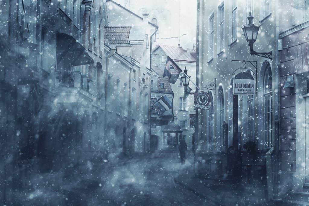 Atak zimy i opady śniegu w Polsce