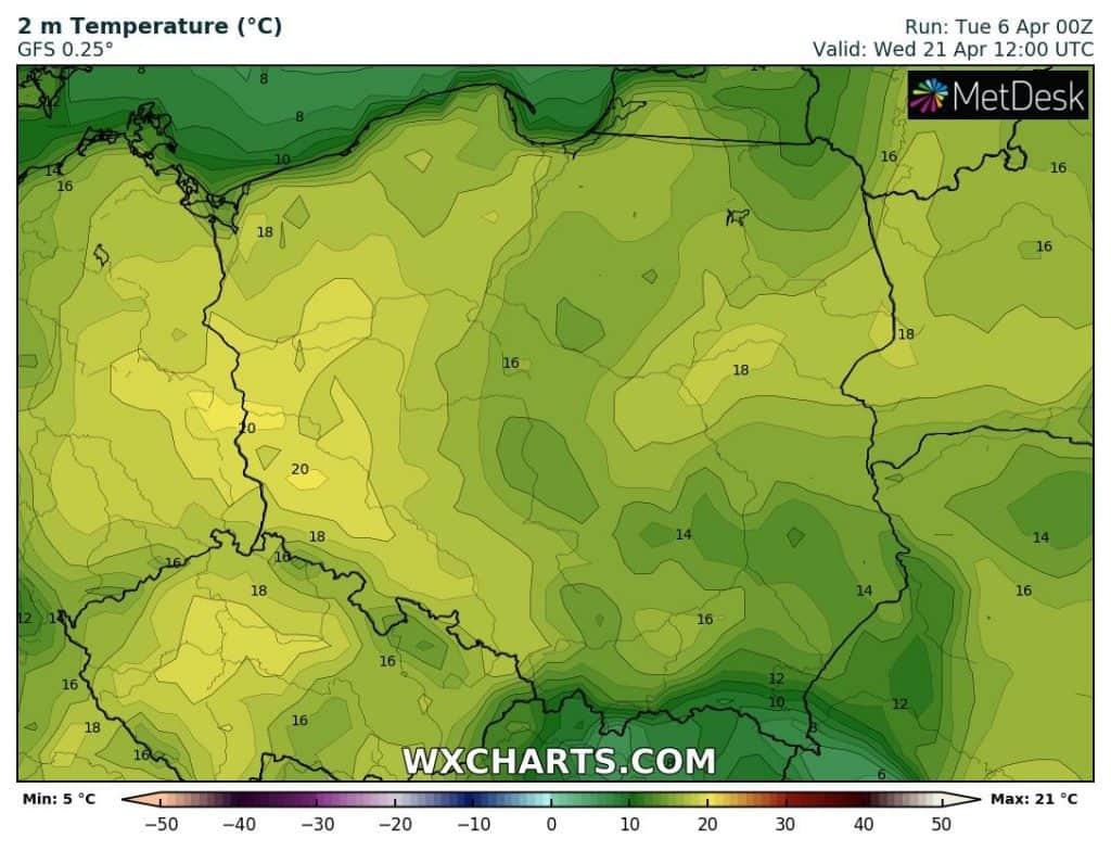 Ocieplenie w Polsce