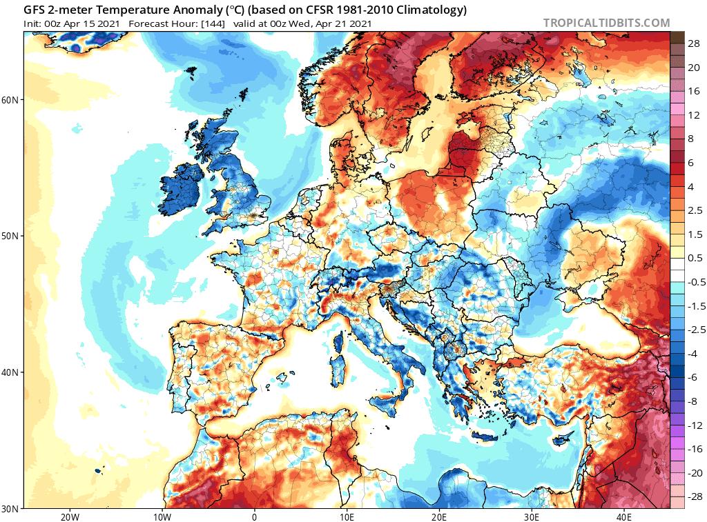 Pogoda. Ocieplenie w Polsce
