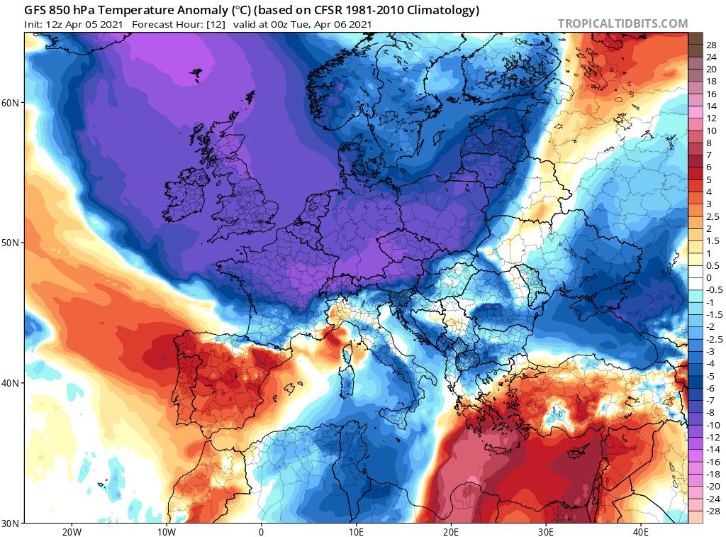 Pogoda. Ochłodzenie w Polsce