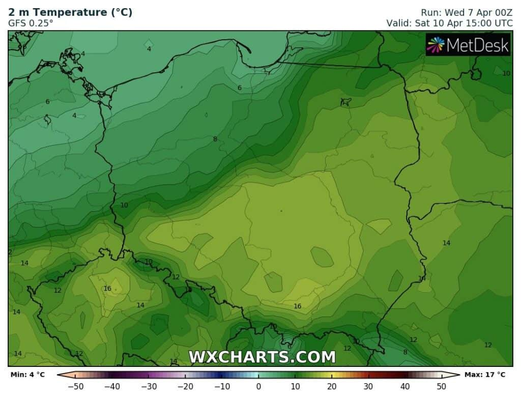 Pogoda w weekend. Wyższe temperatury w Polsce
