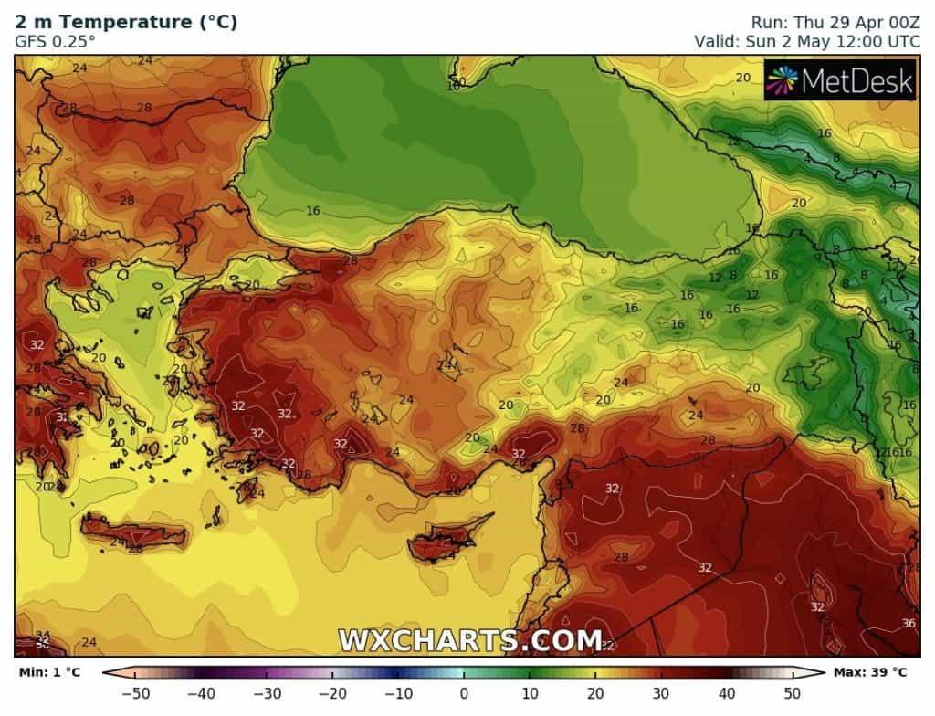 Pierwsze upalne dni na południu Europy