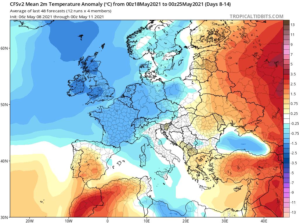 Maj i pogoda w Polsce