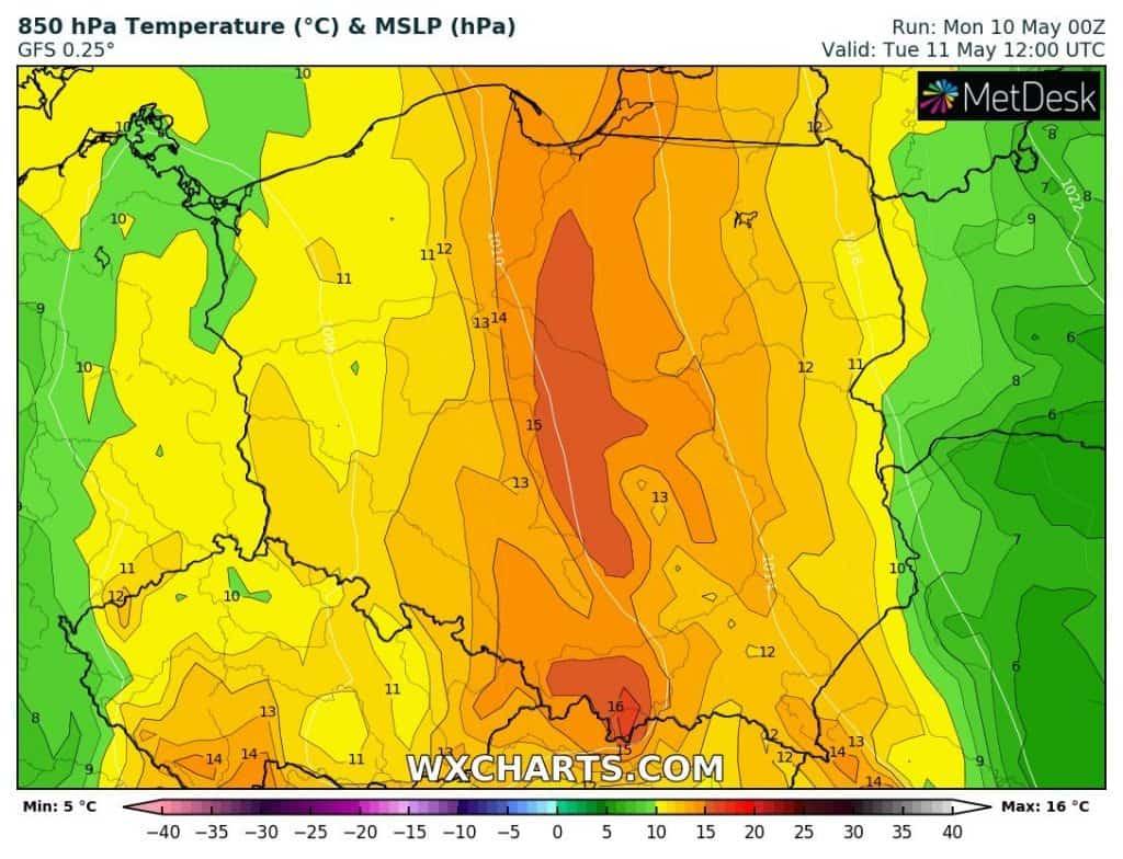 Pogoda. Szansa na upał w Polsce