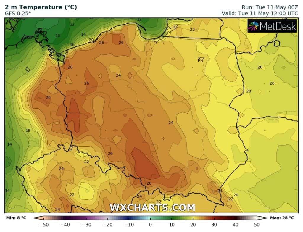 Pogoda-na-dzis-upał-w-Polsce