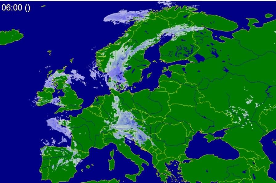 Załamanie pogody przynosi również ulewy w Europie
