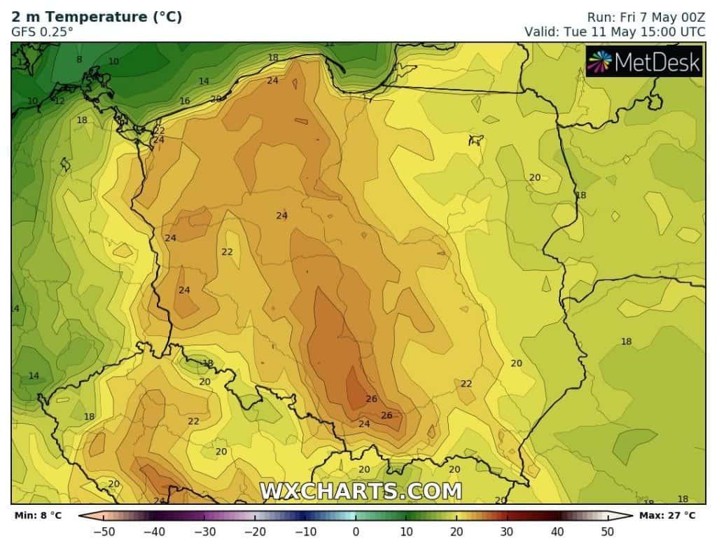 Gorąco we wtorek w Polsce. Czy pojawi się upał?