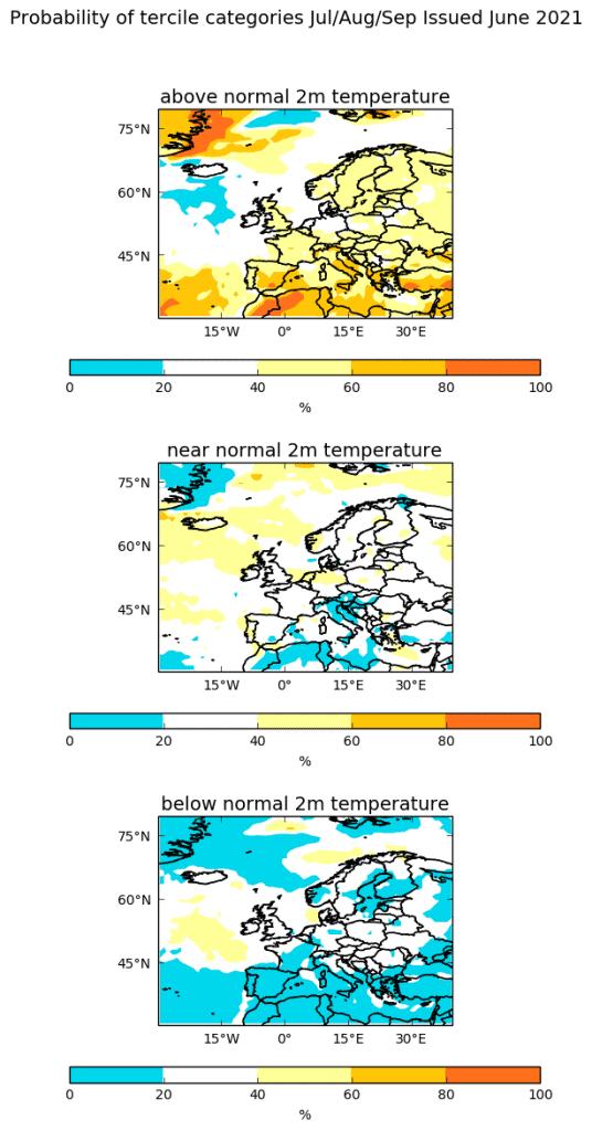 Pogoda na lipiec, sierpień i wrzesień 2021