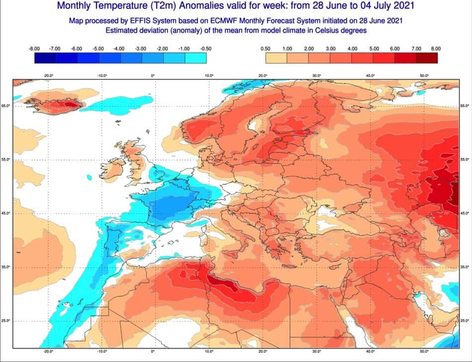 Pogoda długoterminowa lipiec 2021.