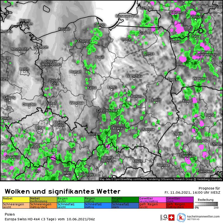 Pogoda na dziś. Burze możliwe w Polsce