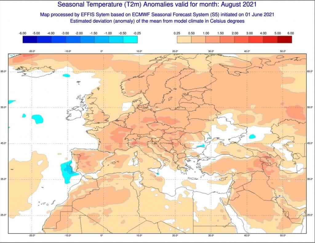 Pogoda w sierpniu 2021