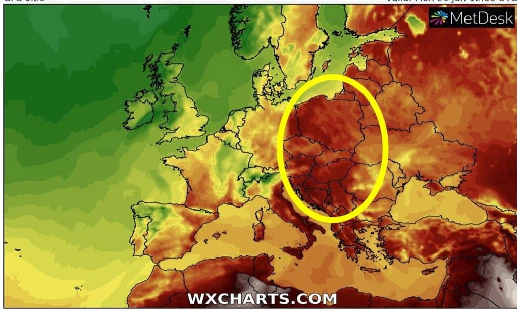 Fala upałów w Polsce i Europie. Upał będzie naprawdę silny