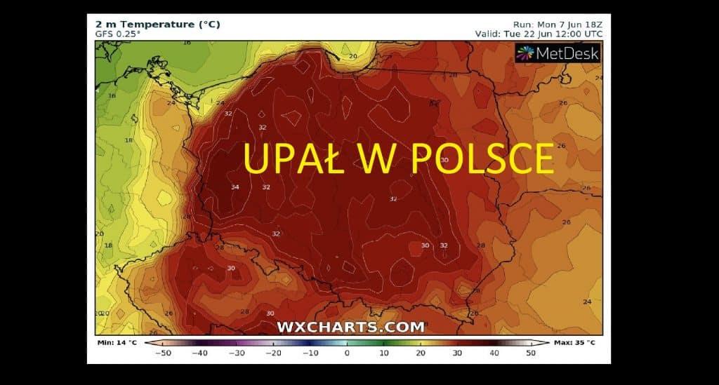 Bomba ciepła przyniesie upał w Polsce