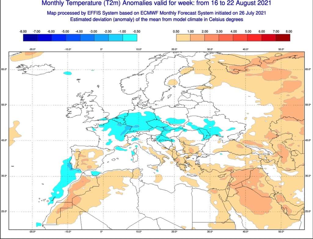 ecmwf i trend w pogodzie