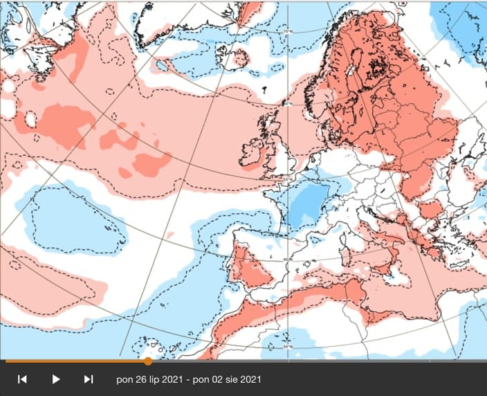Powrót wysokich temperatur pod koniec lipca