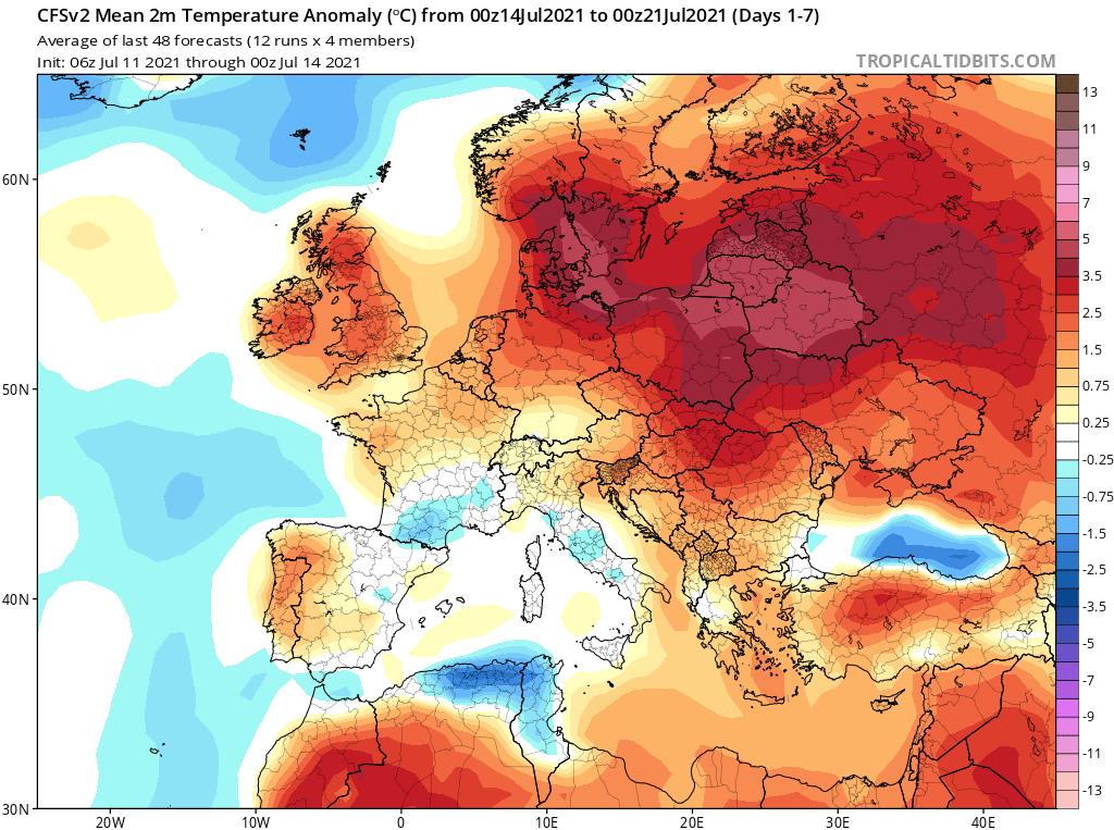 Pogoda. Gorący okres synoptyczny