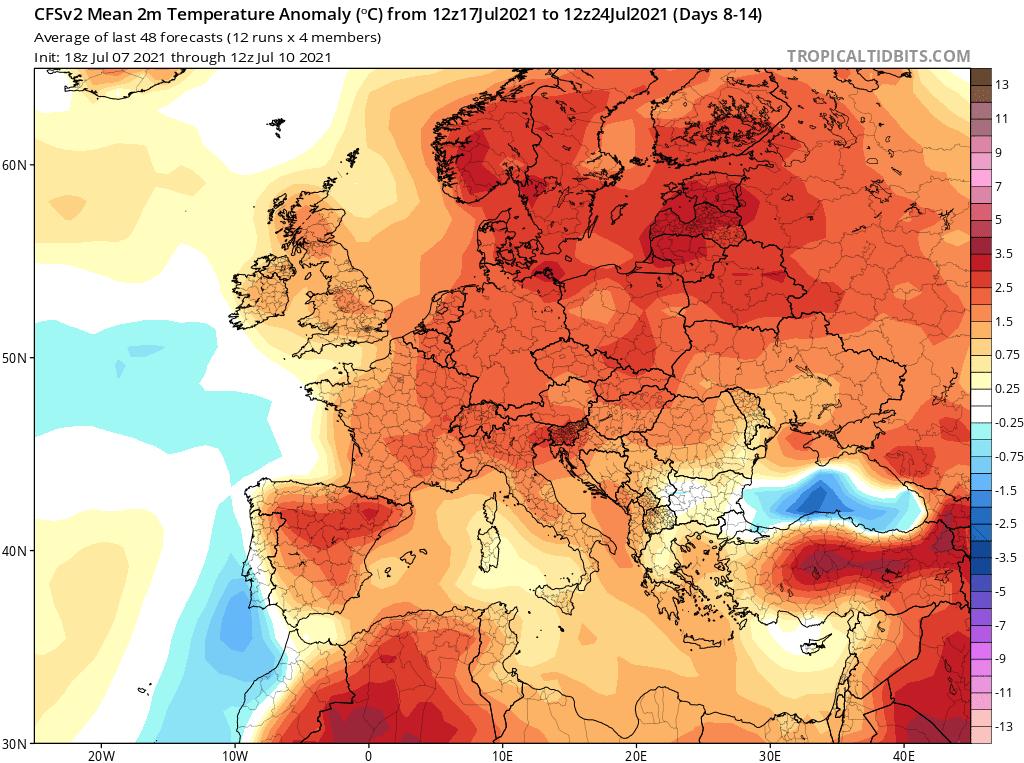 wyjątkowo ciepło w Polsce