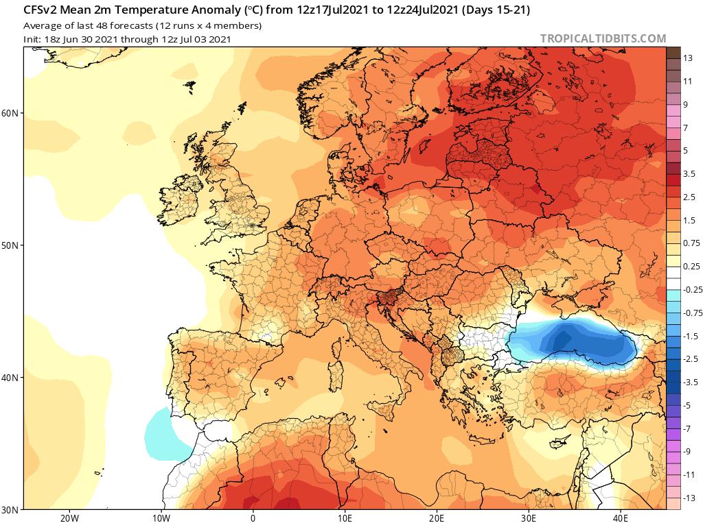 Gorąc i upał 3 dekada lipca
