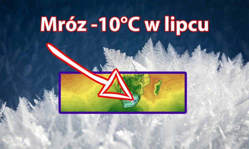 Mróz -10 stopni w lipcu 2021