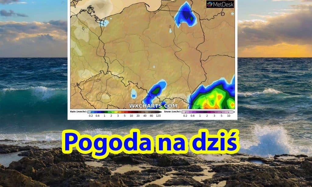 Pogoda na dziś, wtorek 20 lipca