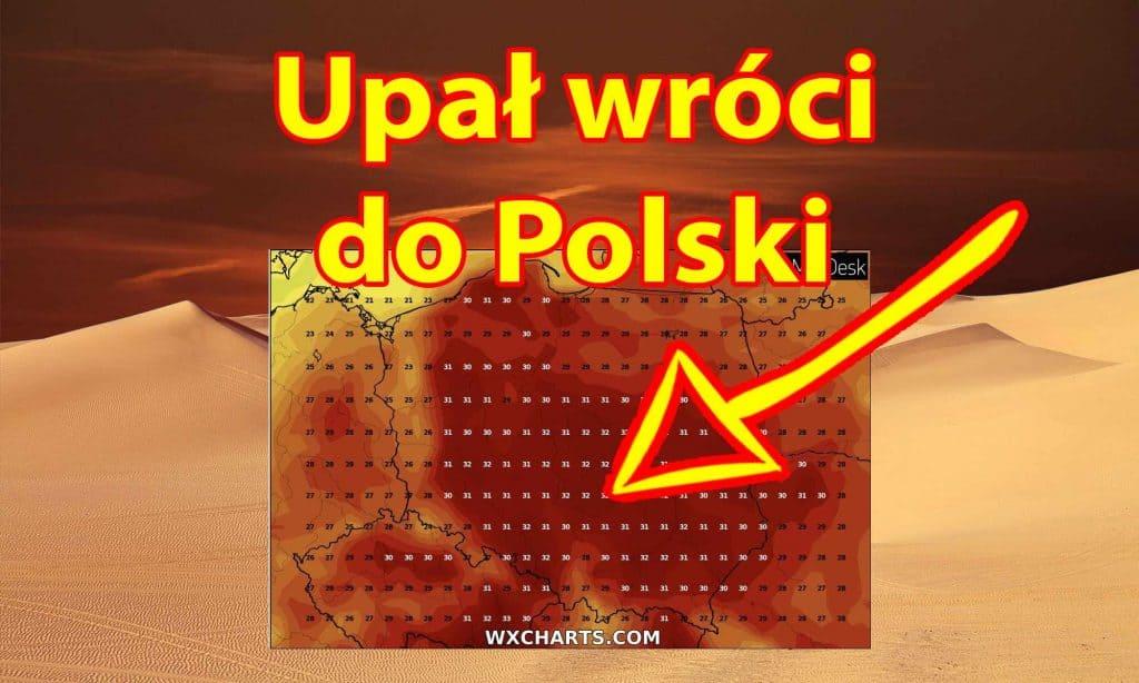 Silny upał wróci do Polski. Afrykański żar do 45 stopni w Europie
