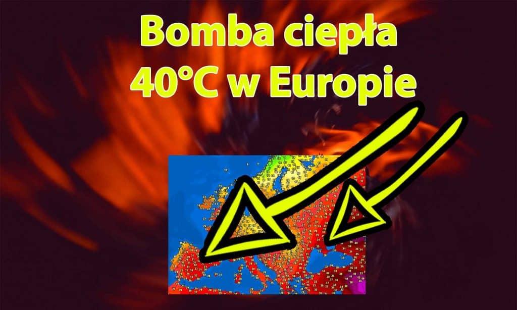 Upał w Europie. Bomba ciepła. Ile stopni w Polsce