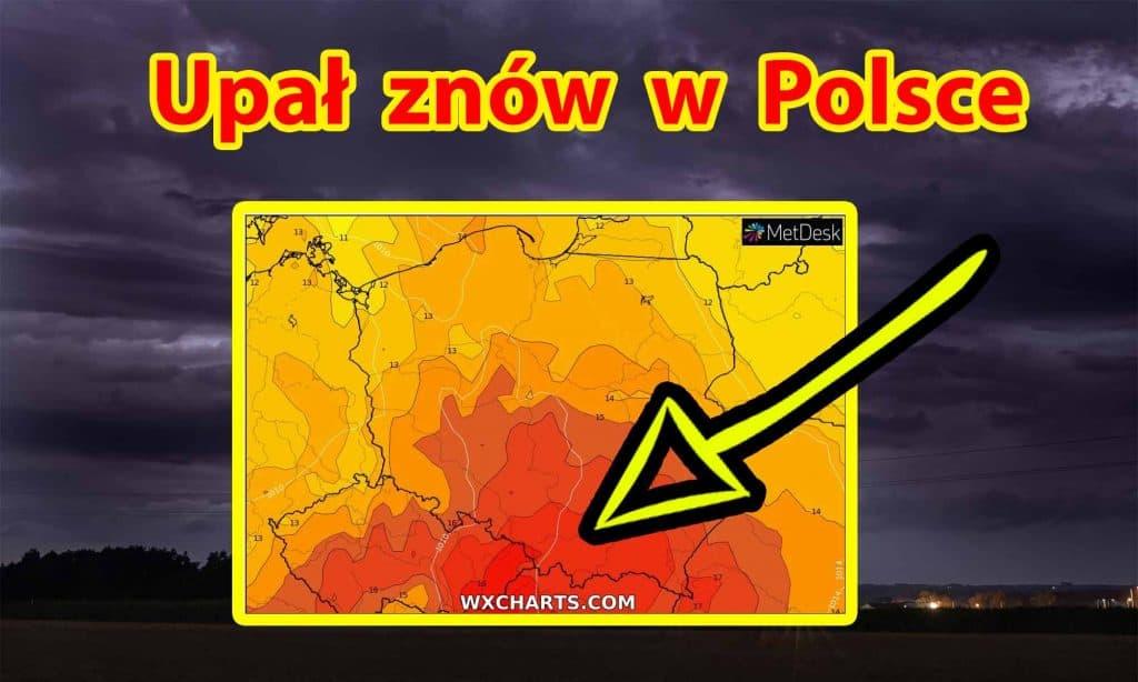 Upał znów w Polsce w lipcu 2021
