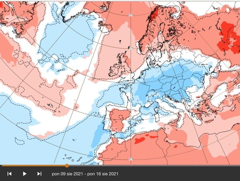 pogoda. jaka aura w sierpniu 2021
