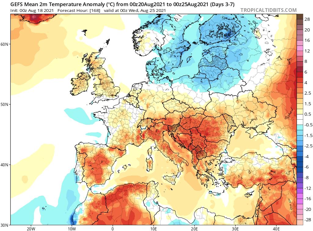 Pogoda długoterminowa do końca sierpnia 2021 dla Polski. Ocieplenie