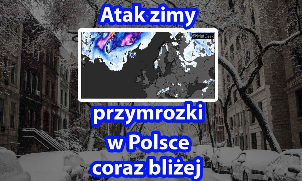 Atak zimy. Przymrozki w Polsce coraz bliżej