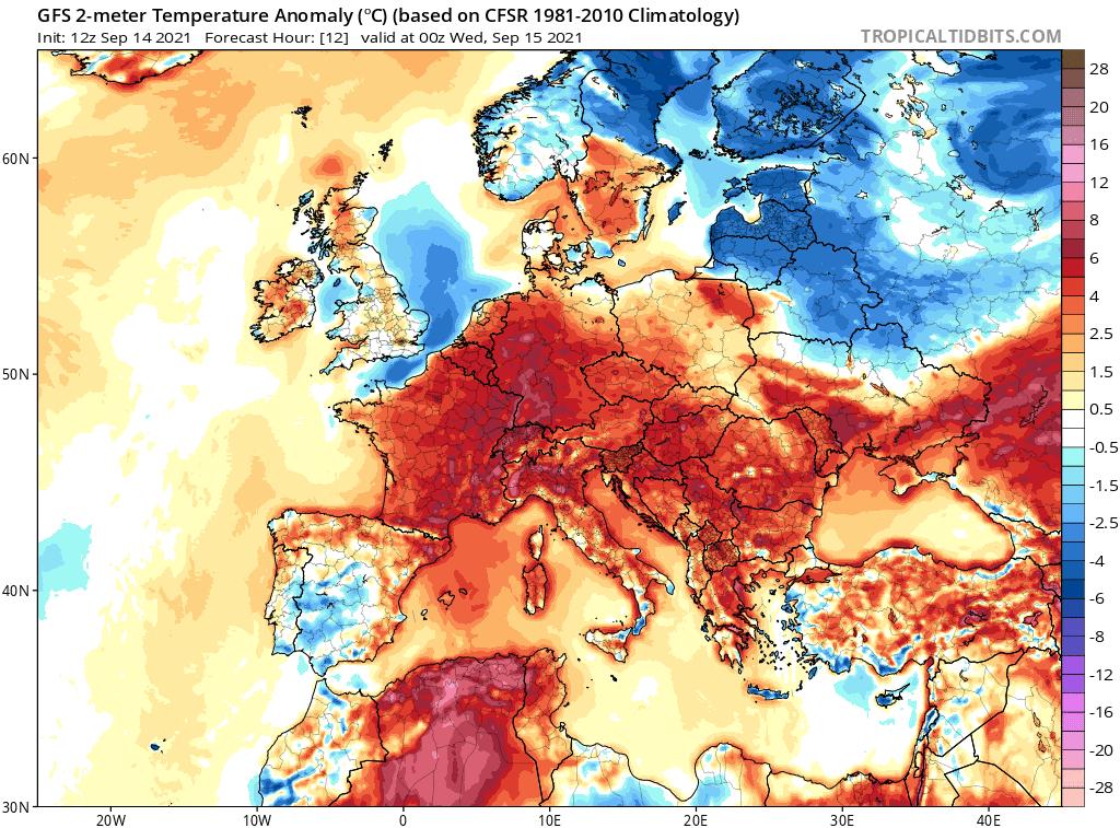 pogoda. anomalia temperatura