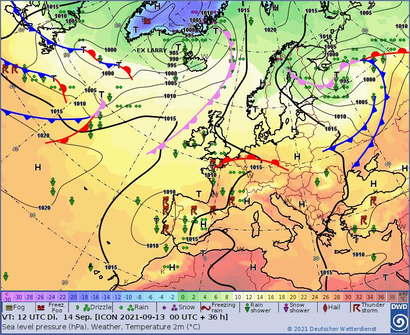 Pogoda na dziś, wtorek 14 września. Wyż nad Polską