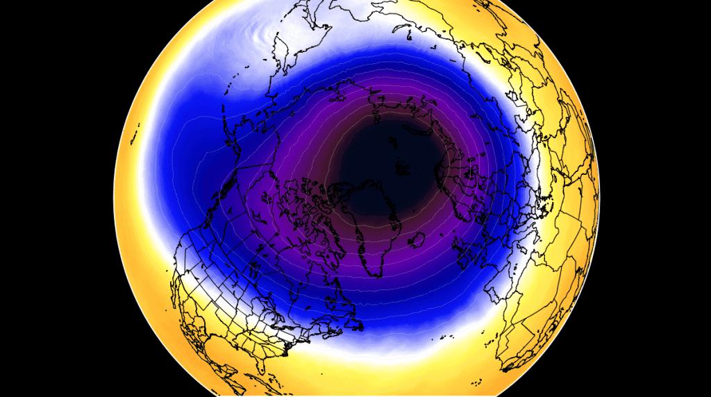 Wir polarny wpłynie na pogodę w kolejnych miesiącach