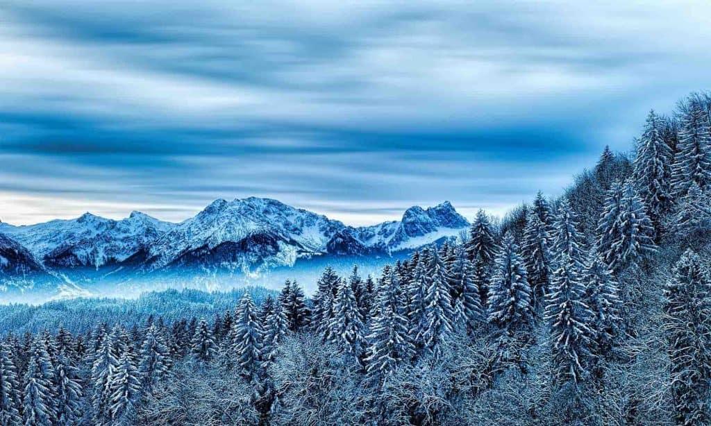 Atak zimy w górach i w regionie