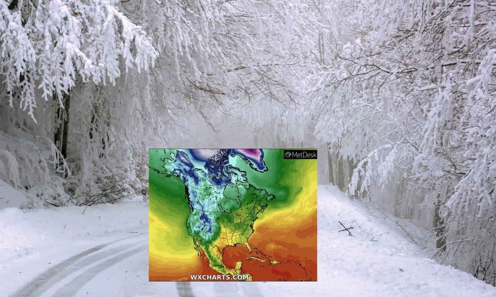 Atak zimy w USA od 13 października