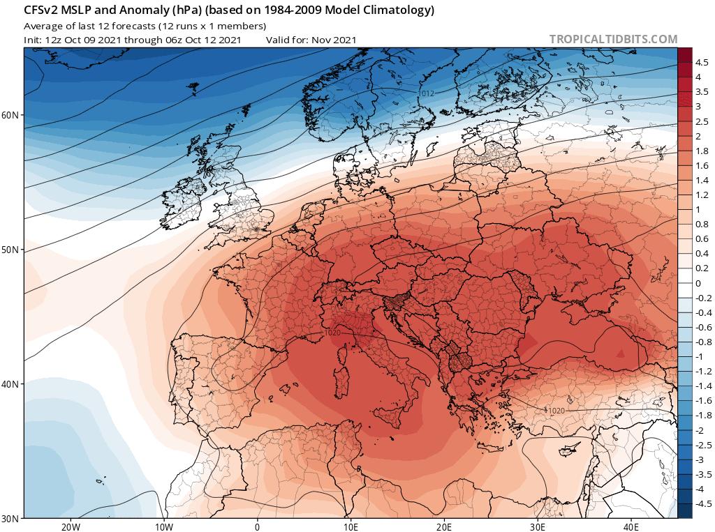 Pogoda długoterminowa na cały listopad 2021. Będzie duże zaskoczenie.