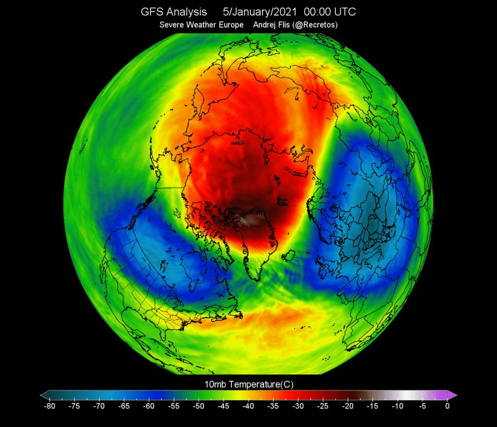 Wir polarny wpłynie na pogodę w kolejnych miesiącach.